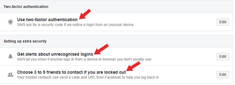 facebook secure kaise rakhe