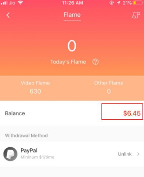 hypstar app earning proof