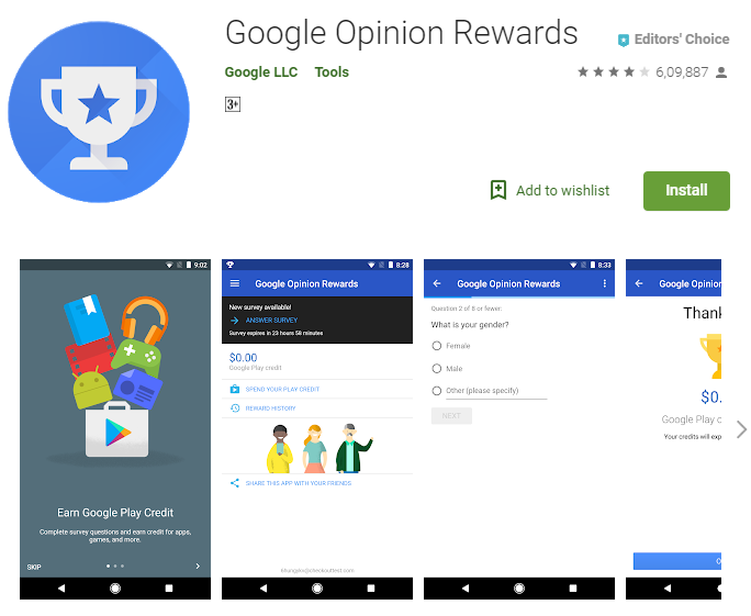 google opinion reward se paise kaise kamaye 2018