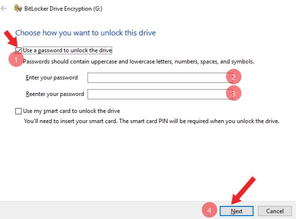 pen drive me password kaise lagaye