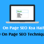 on page seo kaise kare 2020