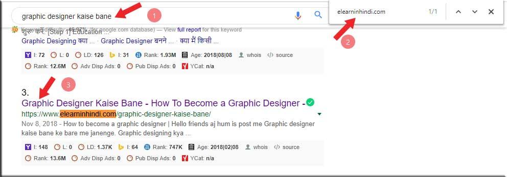keyword ranking checker tools in hindi 2019