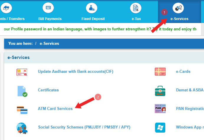 online-new-atm-card-kaise-banaye