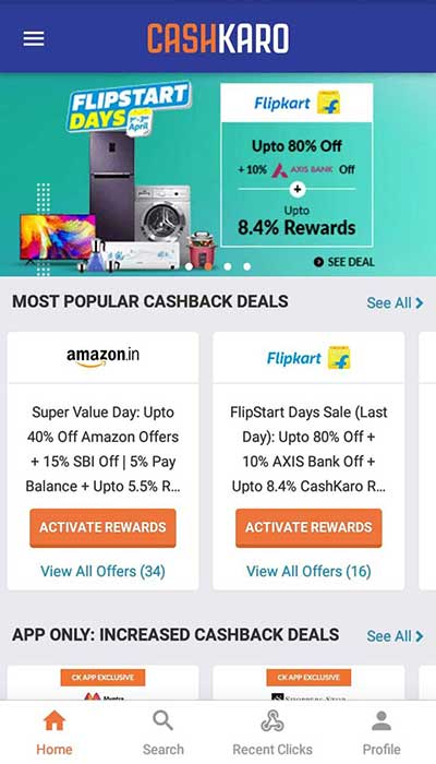 Top 5 Best Cashback Apps in India 2019 | Best Cashback Apps -