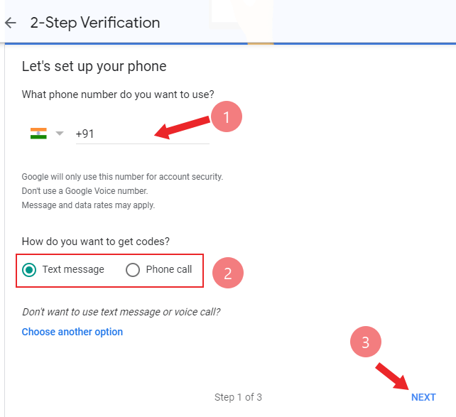 how to enable two factor authentication
