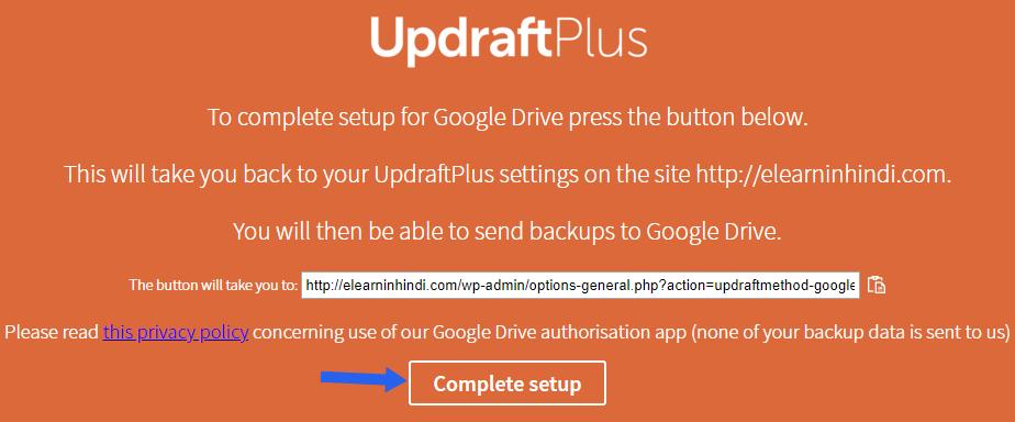 updraftplus wordpress backup plugin hindi