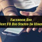 best Facebook Bio In Hindi